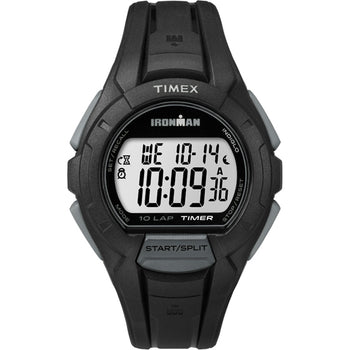 Timex Ironman Essential 10 Full-Size LAP - Black [TW5K940009J]-Timex-Point Supplies Inc.