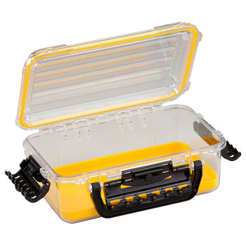 Plano Waterproof Polycarbonate Storage Box - 3600 Size - Yellow-Clear [146000]-Plano-Point Supplies Inc.