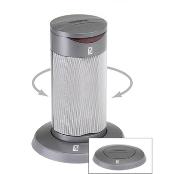 Poly-Planar Round Waterproof Pop-Up Spa Speaker - Gray [SP201RG]-Poly-Planar-Point Supplies Inc.