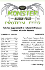 Monster Bucks Plus 20% Protein Feed