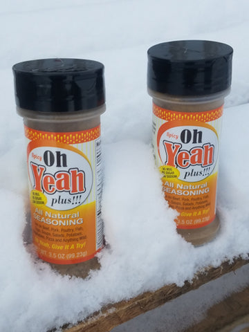 Oh Yeah Plus!!! SPICY   2 - 3.5 oz bottles *Free Shipping*