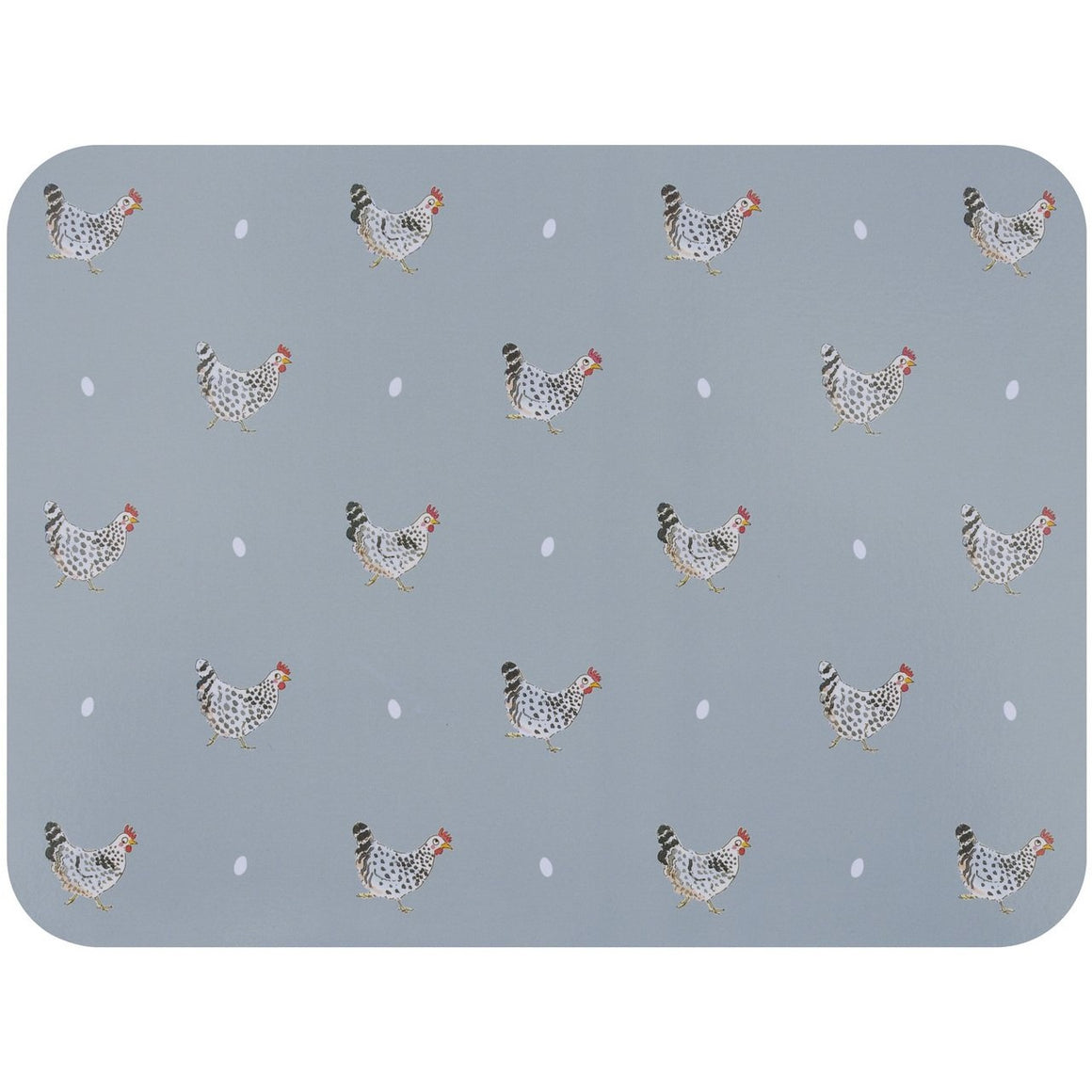 Sophie Allport Chicken Placemat Set
