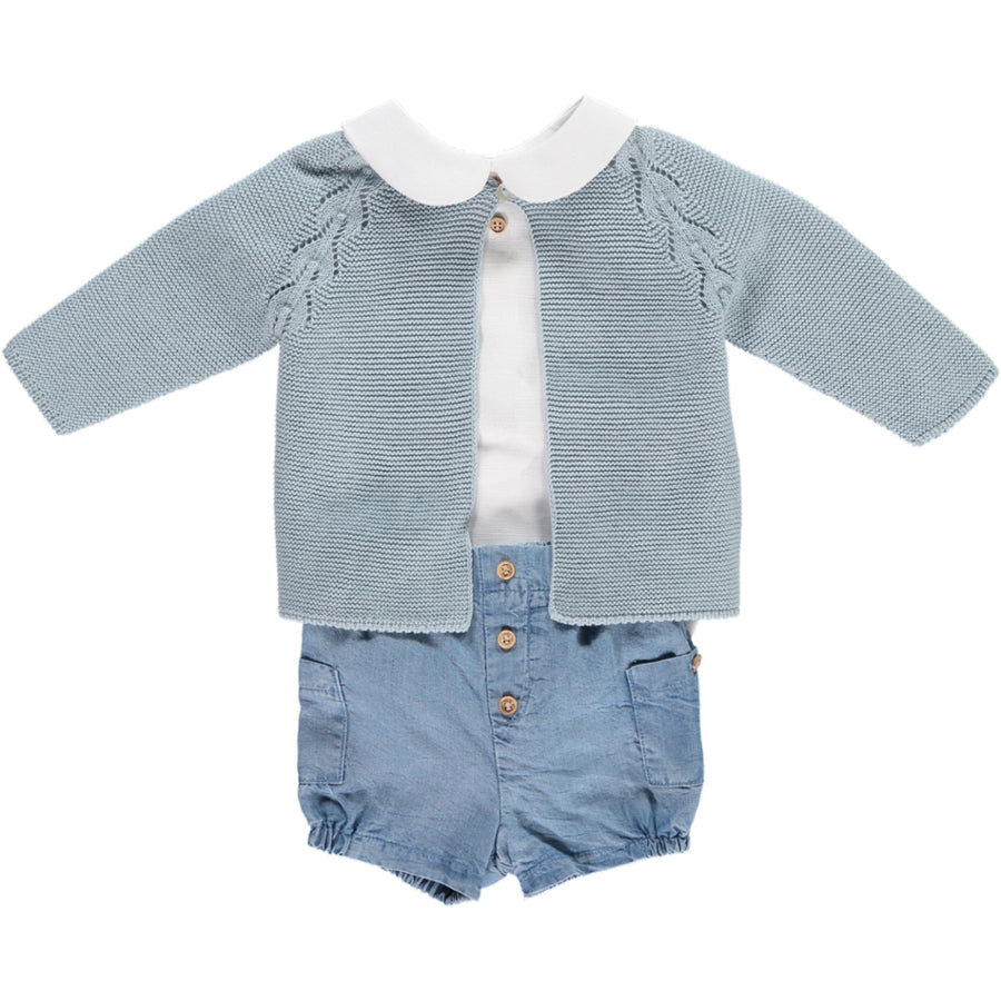 boys outfit with shorts