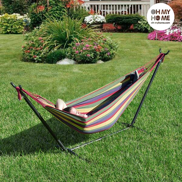 Oh My Home Hammock with Stand