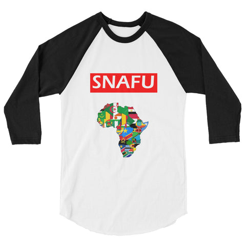 "Snafu ""The motherland"" Classic baseball shirt"