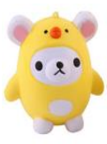Jumbo Slow Rising Squishies | Super Cute Bear in Duck Suit Squishy