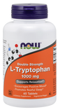 NOW L-Tryptophan 1000mg (60 Tablets)