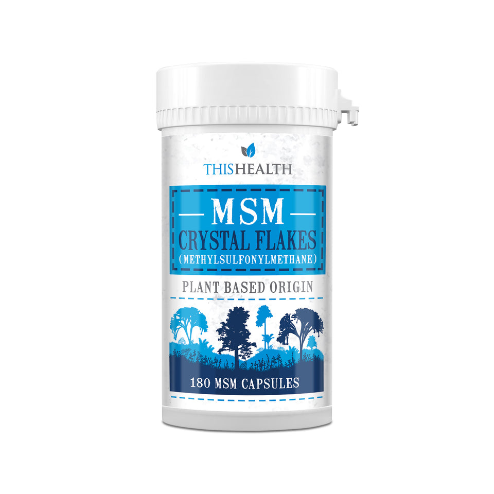 MSM Capsules - Canadian Crystal Flakes