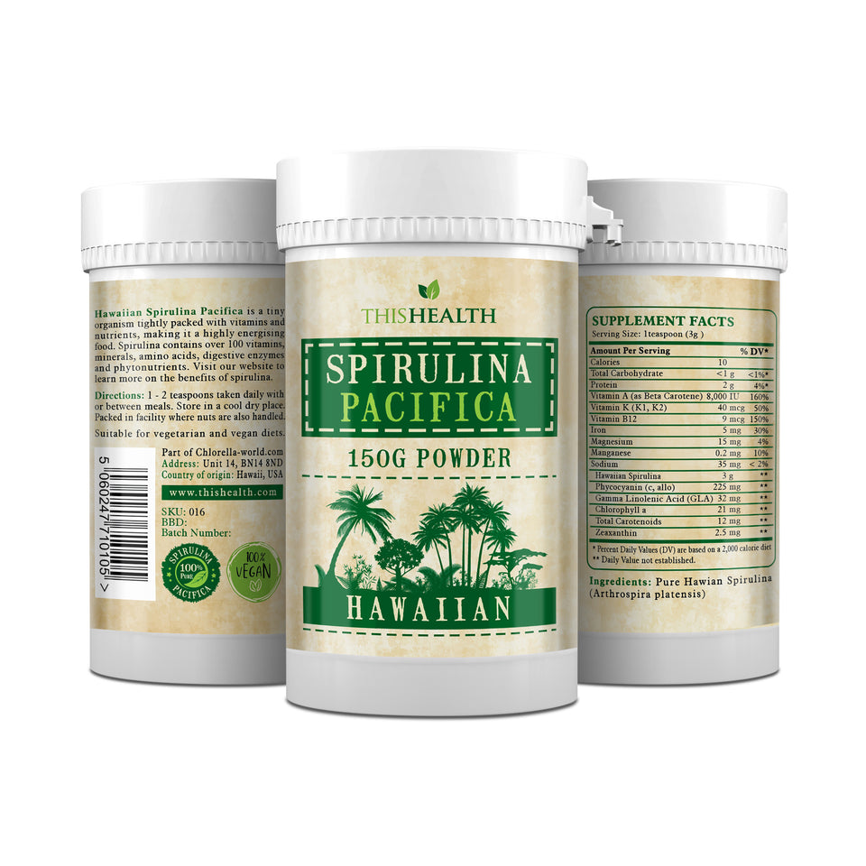 spirulina pacifica powder