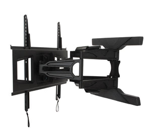 B-Tech BT8225 - Ultra Slim Double Arm TV Wall Mount, Tilt and Swivel