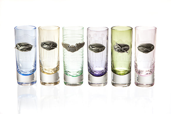 Check Six Shot Glasses Set
