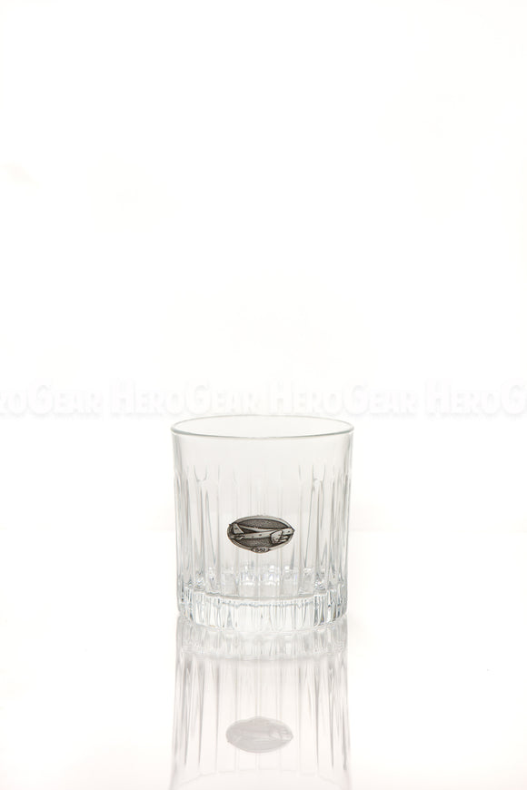 FightsOn Double Old Fashioned, Small Crest