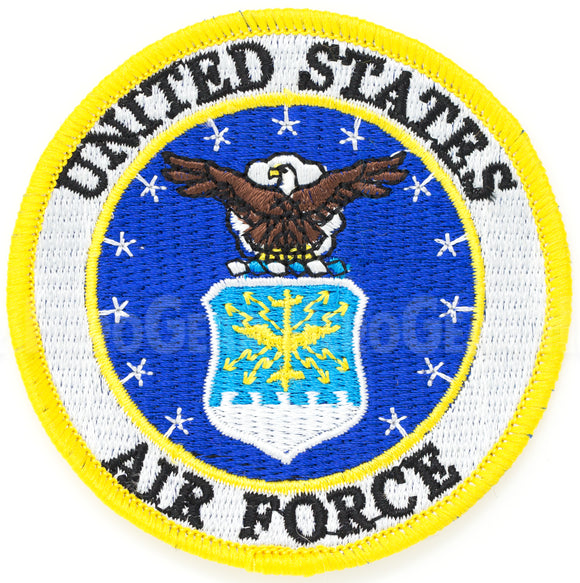 United States Air Force Round Patch