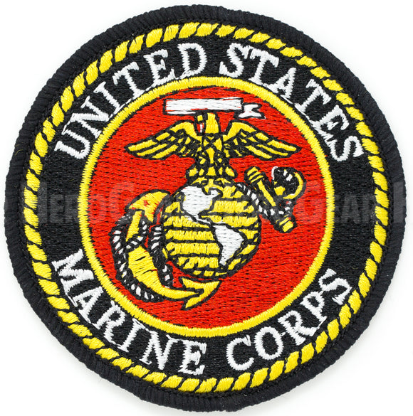 United States Marine Corps Round Patch