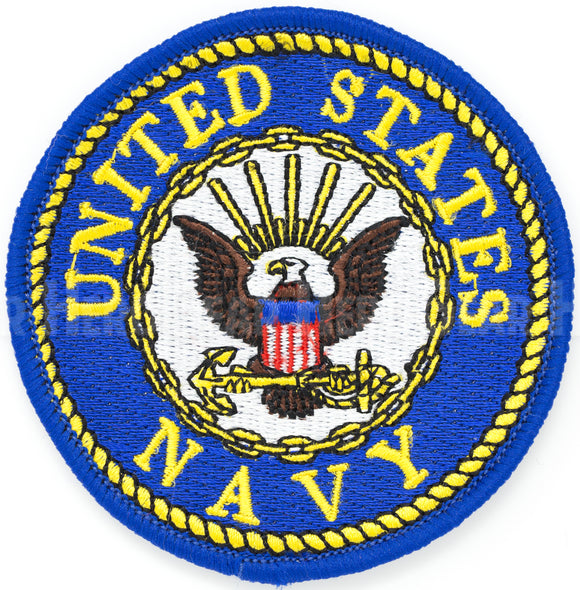 United States Navy Round Patch