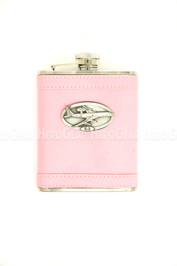 Covered PINK Flask