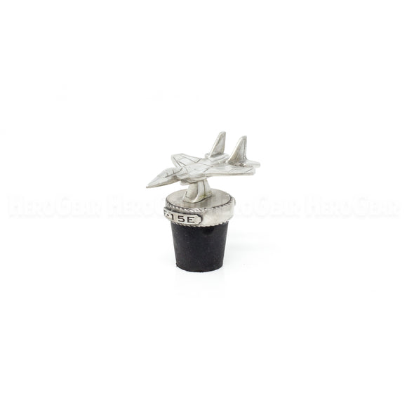 F-15E Strike Eagle Fighter Wine Corks and Bottle Stoppers