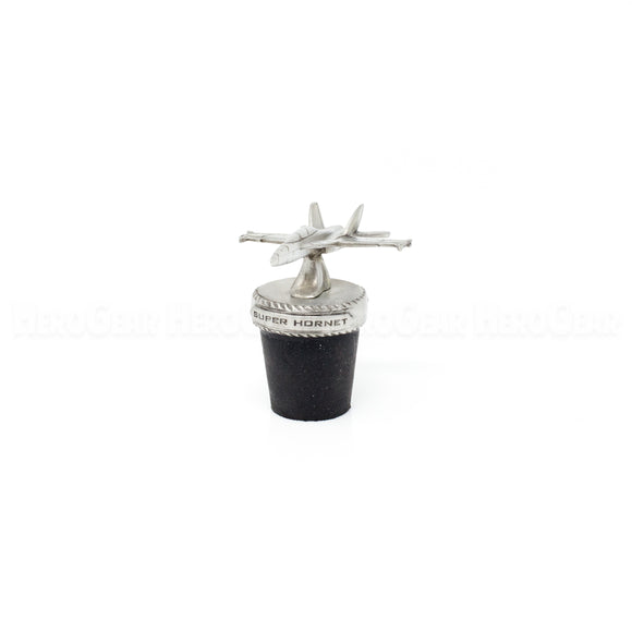 F-18 Super Hornet Fighter Wine Corks and Bottle Stoppers