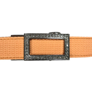 Women's Tang Leather Canvas Golf Belt - golfcovers