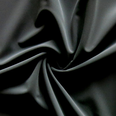 Classic Black Nylon Spandex Swimsuit Fabric