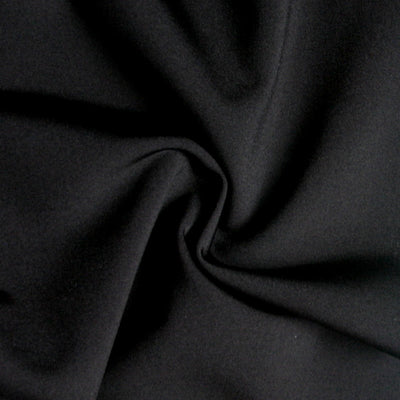 Black Swimsuit Lining Fabric