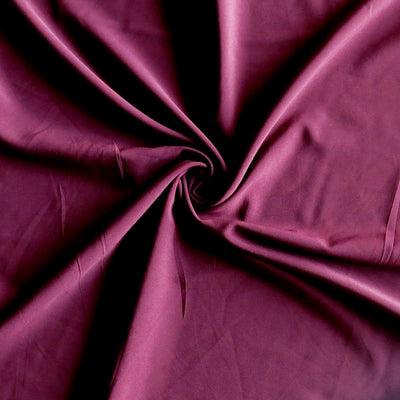 Burgundy Stretch Woven Fabric