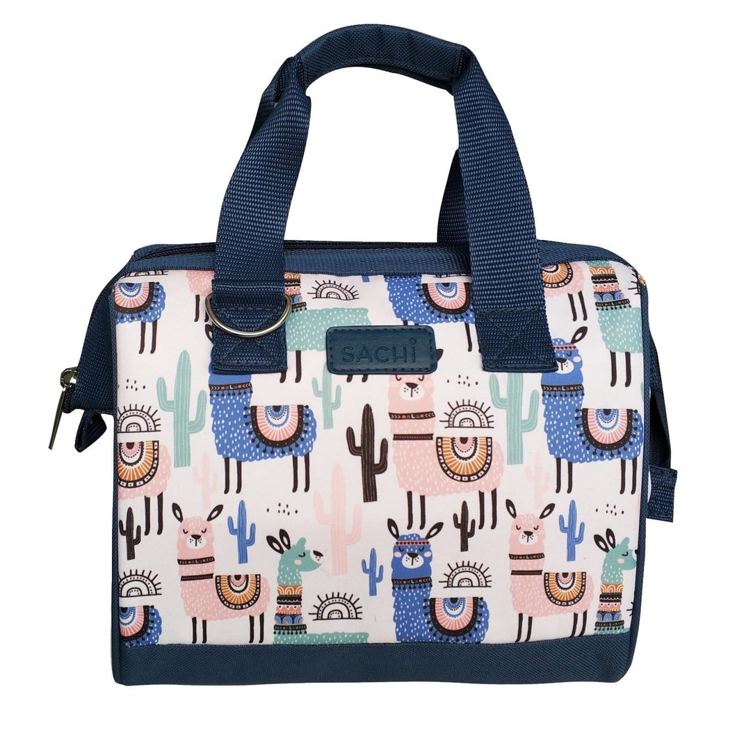 Sachi Insulated 34 Lunch Bag - Llamas