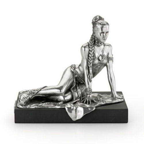 Royal Selangor Star Wars Pewter Figurine Princess Leia - Lucasfilm Approved - Limited Edition