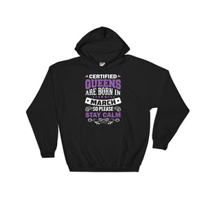 Certified Queen March Hoodie Sweatshirt - Certified227