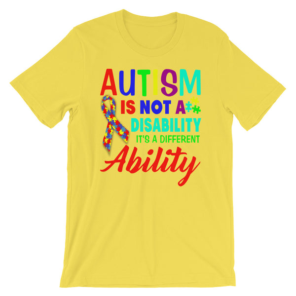 Autism Speak Unisex T-Shirt Design - Certified227