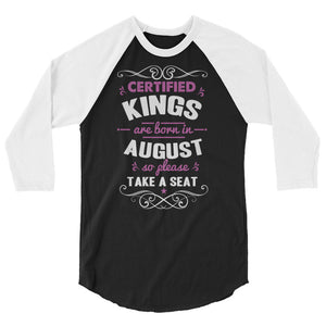 August King's 3/4 Sleeve Raglan Shirt - Certified227