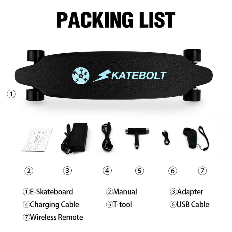 Skatebolt Electric Skateboard TORNADO