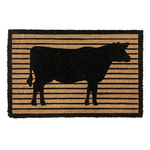 Country Style- Door Mat | Cow
