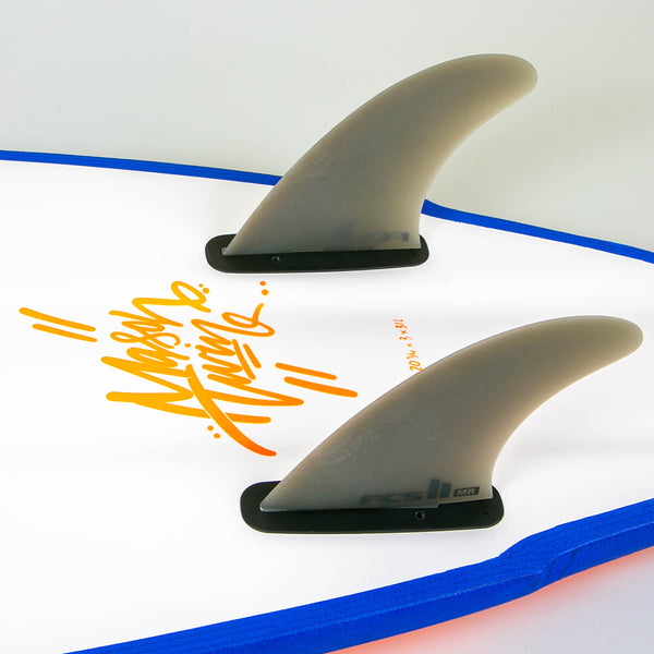 FCS Twin Fin Surfboard