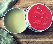 Load image into Gallery viewer, Pain Balm Herbal balm for aches & pains