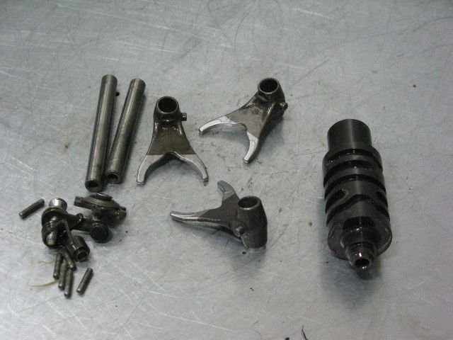 VOR VERTEMATI 450 MX 02 2002 TRANSMISSION SHIFT FORKS DRUM STAR