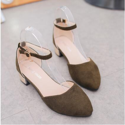 NAUSK 2018 Summer Women Shoes Pointed Toe Pumps Dress Shoes High Heels Boat Shoes Wedding Shoes tenis feminino Side with