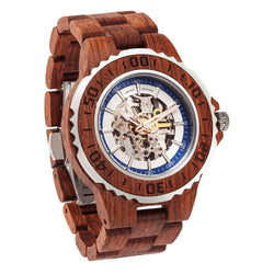 Men's Genuine Automatic Kosso Wooden Watches No Battery Needed wooden watches Wilds Wood