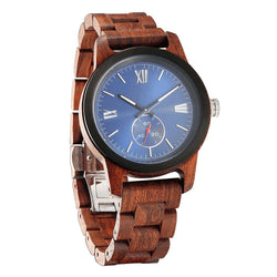 Men's Handcrafted Engraving Kosso Wood Watch - Best Gift Idea! wooden watches Wilds Wood