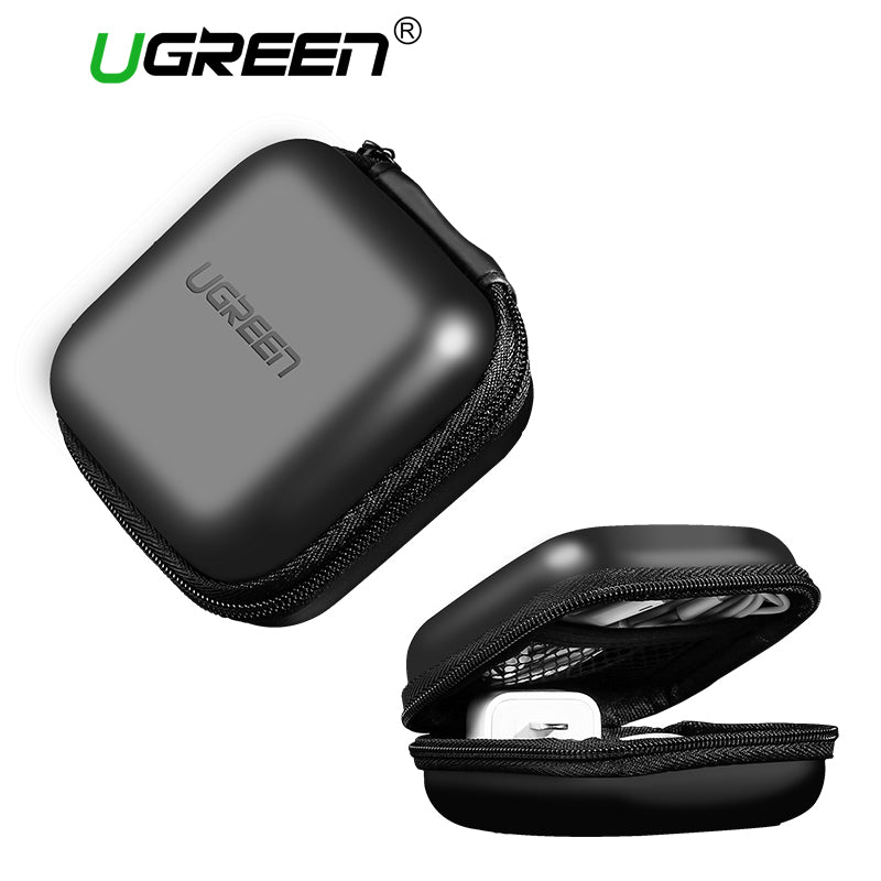 Ugreen Earphone Case Hard Headphone Bag for Apple Airpods Earpods Sennheiser Ear Pads Wireless Bluetooth Earphone Accessorries