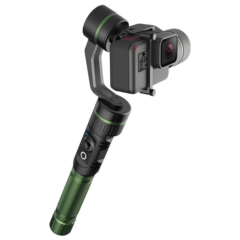 hohem HG5 PRO 3-Axis Handheld Stabilizing Gimbal Action Camera Gimbal Stabilizer 3-Axis 360° Coverage 5-Way Joystick Control for GoPro Hero5 4 3 Xiaoyi and Other Action Cameras of Similar Size
