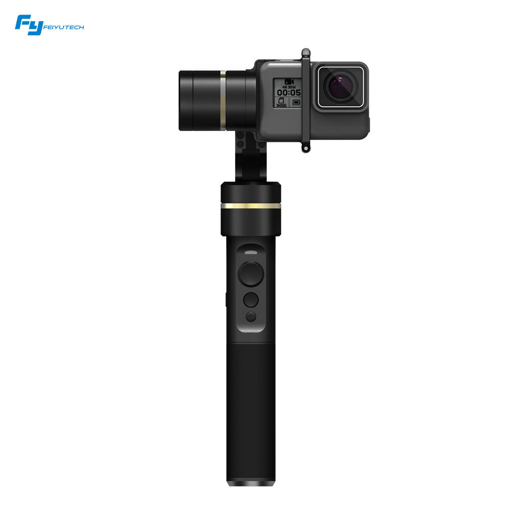 Feiyu G5 3-Axis Handheld Gimbal Action Camera Stabilizer Splash-Proof Design for GoPro HERO5 HERO4 HERO3 for Yi Cam 4K for AEE for SONY RXO and Action Cameras of Similar Size