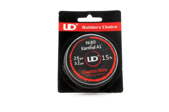 Youde UD Clapton Wire 15ft (6 styles) - Mystical Vapes