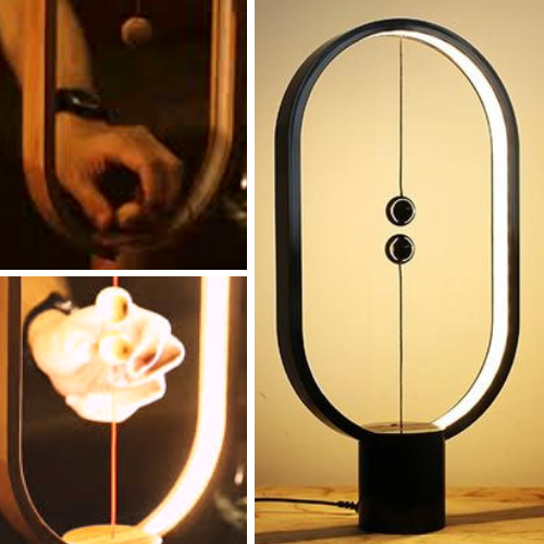 The Magnetic Lamp - Magnetic Balance Lamp