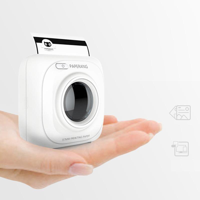 Mini Portable Wireless Phone Photo Printer