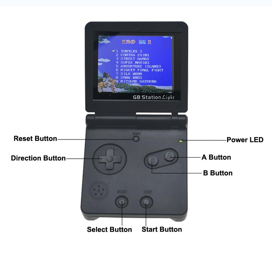 Retro Handheld Gaming Console (142 classic games)