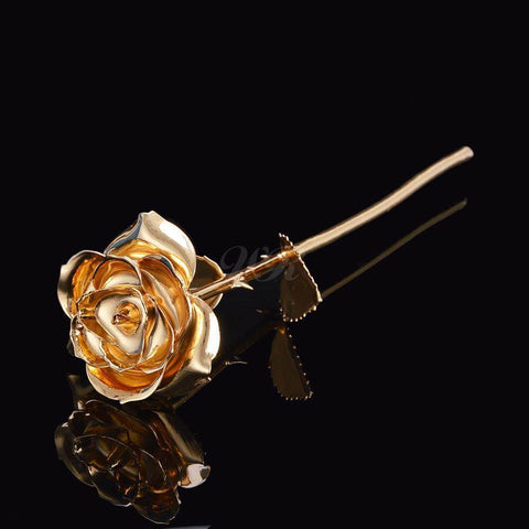 24K Gold Trimmed Forever Rose - Looker Gifts