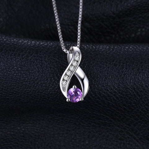 Amethyst Pendant Necklace - Looker Gifts