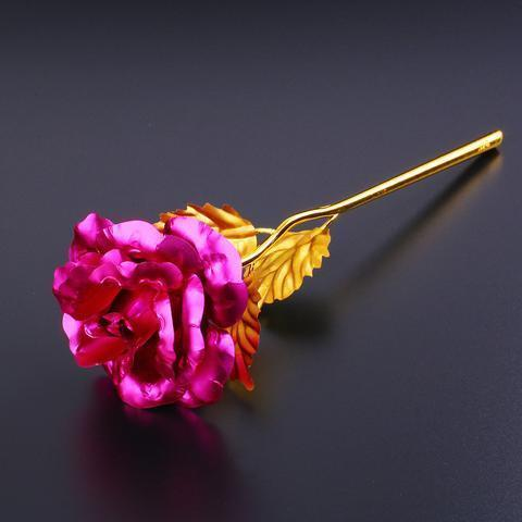 24K Golden Rose - Pick 2, Get 1 Free! - Looker Gifts