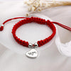 Image of Mom's Red Threaded Bracelet - Looker Gifts
